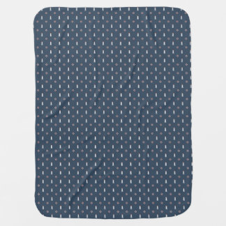 Unique nautical design, perfect gift! baby blanket