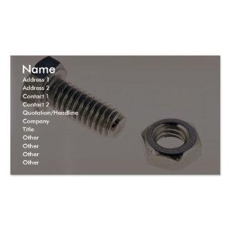 Unique Nut and bolt Business Cards