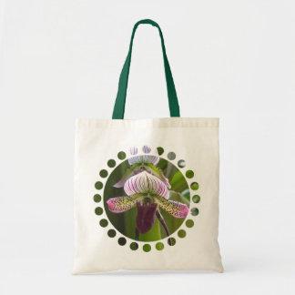 Unique Orchid Small Tote Bag
