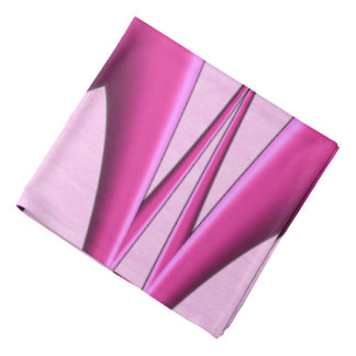 Unique Pink Pattern Bandana