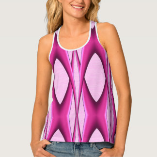 Unique Pink Pattern Singlet