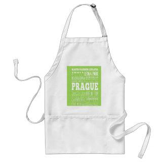 Unique Prague, Czech Republic Gift Idea Standard Apron