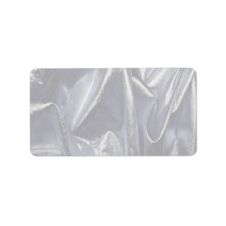 Unique Reflective material Address Label