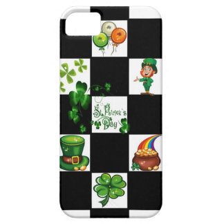 Unique Retro St. Patrick's Day iPhone 5 Case