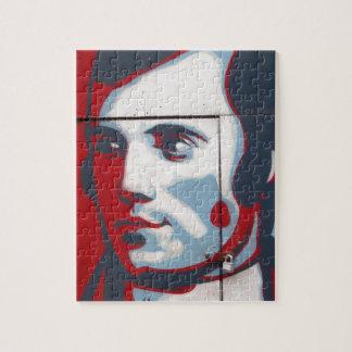 Unique Robert Burns Street Art! Jigsaw Puzzle