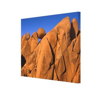Unique rock formation, California Canvas Print
