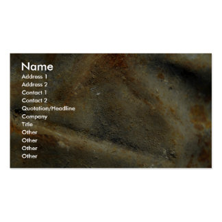 Unique Rusty White Texture Business Card Template