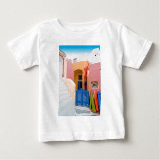 Unique Santorini architecture Baby T-Shirt
