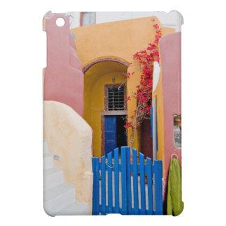 Unique Santorini architecture iPad Mini Covers