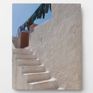 Unique Santorini architecture Plaque