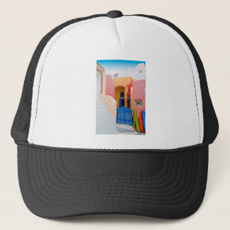 Unique Santorini architecture Trucker Hat