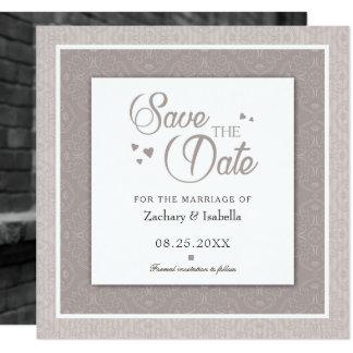 Unique Save the Date Invitation