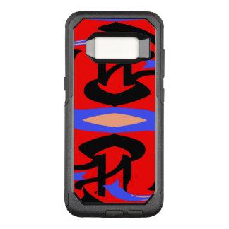 Unique Shape Art OtterBox Commuter Samsung Galaxy S8 Case