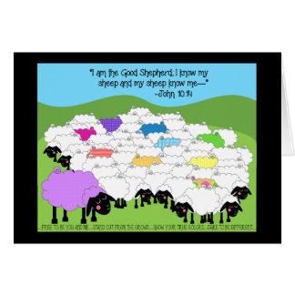 Unique Sheep Birthday Card