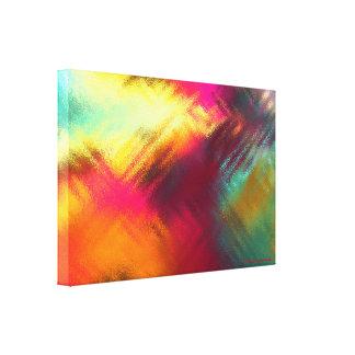 "Unique Solarium Glass-I 24X16X1.5"", Canvas Wrap"