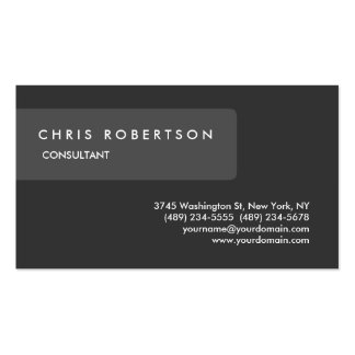 Unique Special Grey Attractive Pack Of Standard Business Cards