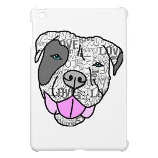 Unique Stylish Pit Bull Love Graphic iPad Mini Cases