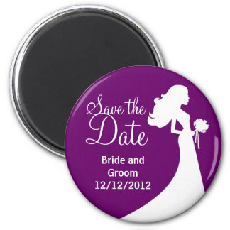 Unique Stylish Save the Date Magnets