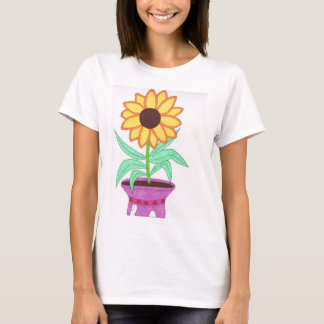 Unique Sunflower T-Shirt