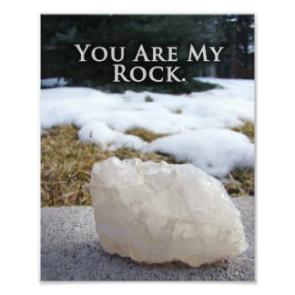 Unique Thank You Gift Art Quote Print Photographic Print