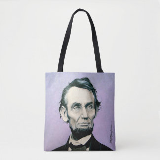 Unique Tote Bag - Lincoln