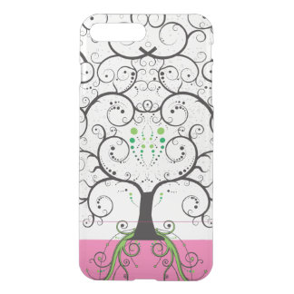 Unique Tree of Life like Illustration clear iphone iPhone 7 Plus Case