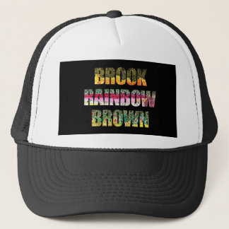Unique Trout Fly Fishing Trucker Hat
