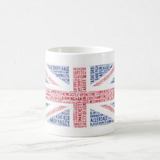 """Unique """"Union Jack"""" typographic design Coffee Mug"""