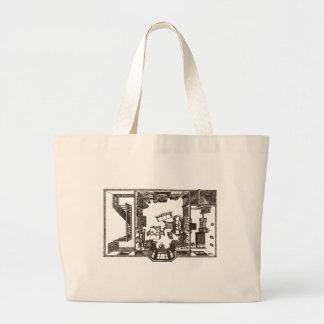Unique Victorian Flat Tote Bag