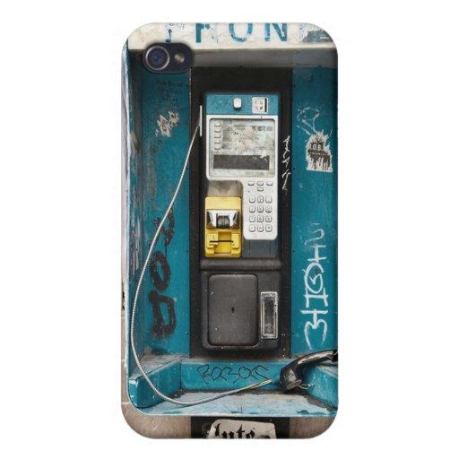 Unique Vintage Retro Public Payphone Iphone Cases iPhone 4/4S Cases