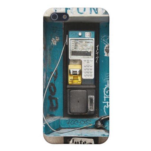Unique Vintage Retro Public Payphone Iphone Cases Cases For iPhone 5