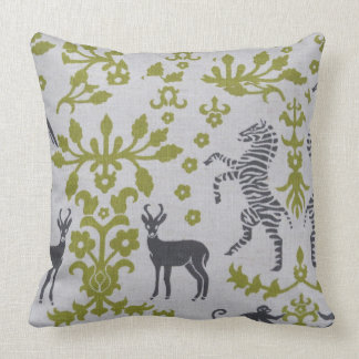 Unique warm Jungle Throw Pillow