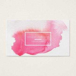 ★ Unique Watercolour Business Card