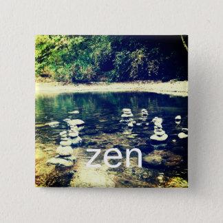 Unique Zen Square Pin