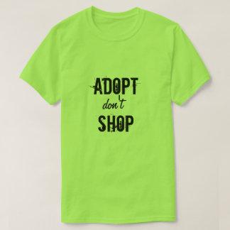 Unisex Adopt Don't Shop T-Shirt