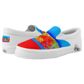 Unisex Artist-Designed Paintstick Sneakers