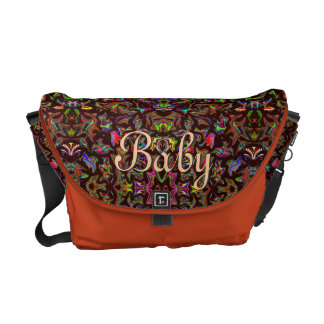 Unisex Baby Customizable Diaper Travel Bag Courier Bags