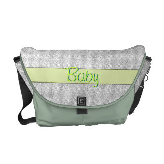 Unisex Baby Customizable Diaper Travel Bag Courier Bag