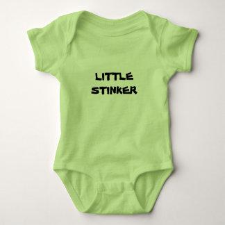 Unisex Baby Grow LITTLE STINKER Baby Bodysuit
