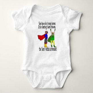 unisex babysuit Kids can be heroes Baby Bodysuit