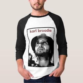 Unisex Baseball - Karl Broadie Portrait (Branches) T-shirt