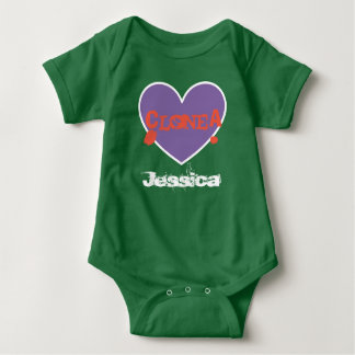 "Unisex ""Clone A"" Baby Bodysuit for Twins/Multiples"