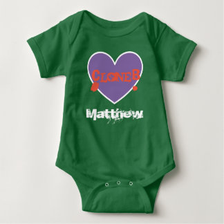 "Unisex ""Clone B"" Baby Bodysuit for Twins/Multiples"