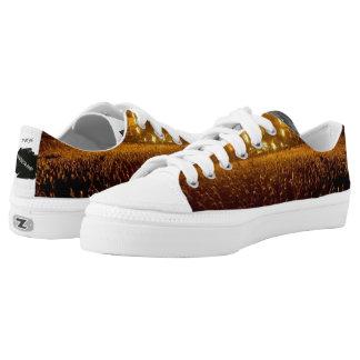 Unisex designer low shoes printed shoes