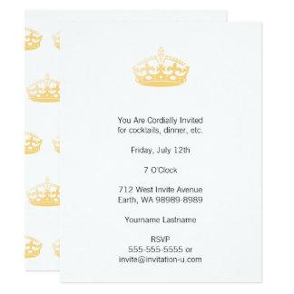 Unisex Palace Salon Jubilee Crown Card