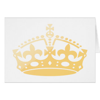 Unisex Palace Salon Jubilee Crown Card