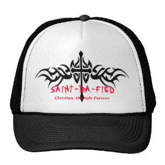 Unisex SAINT-DA-FIED Baseball cap Mesh Hats