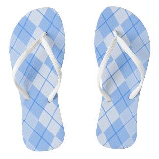 Unisex-Spring-Blue-Argyle-II_(C)Multi-Styles Thongs