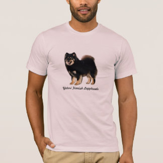 Unisex T-shirt, Yutori Finnish Lapphunds T-Shirt