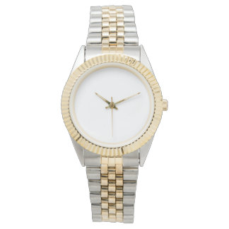 Unisex Two-Tone Bracelet Watch